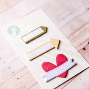 Bilde av Sticky notes heart/arrows