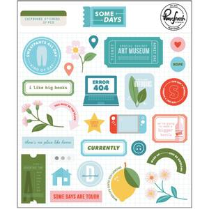 Bilde av  PinkFresh Chipboard Stickers
