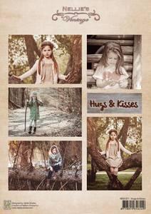 """Bilde av Vintage  """"Hugs & kisses"""""""