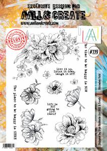 Bilde av Aall & create #229 A4 Stamp -