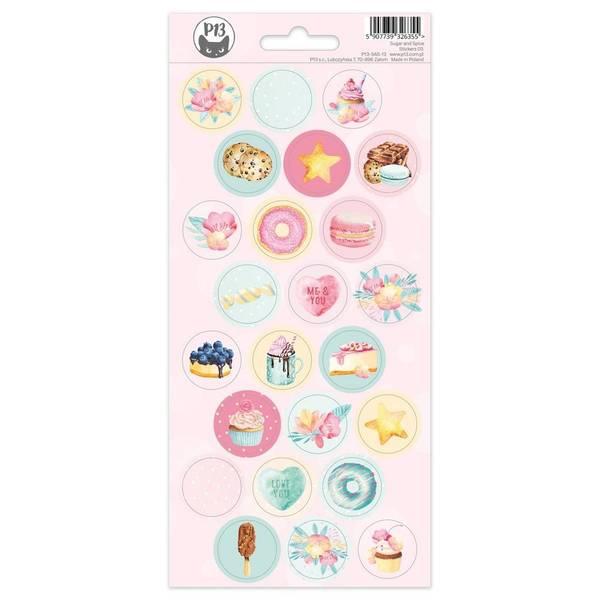 Sugar & Spice Cardstock Stickers - #03