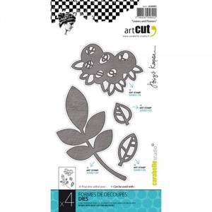 Bilde av Leaves And Flowers, 4/Pkg