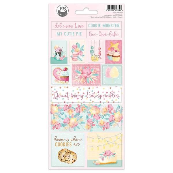Sugar & Spice Cardstock Stickers - #02
