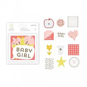 Bilde av paper die cuts girl gold foil