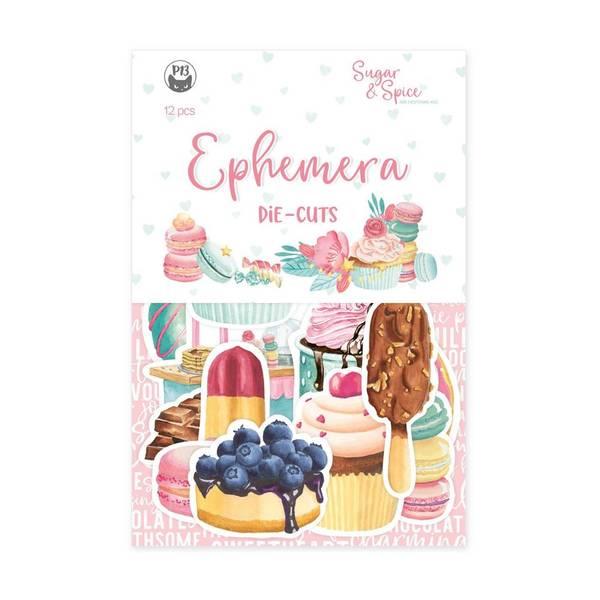 Sugar & Spice Ephemera Cardstock Die-Cuts 12/Pkg by