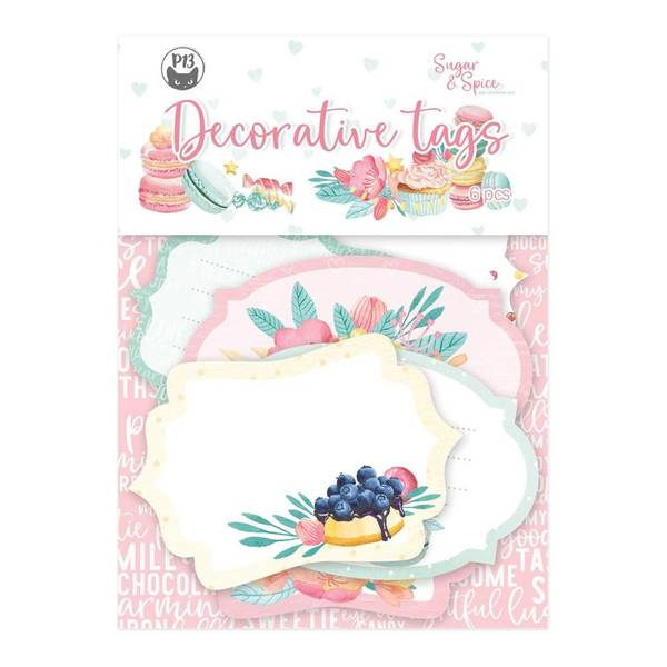 Sugar & Spice Double-Sided Cardstock Tags #4