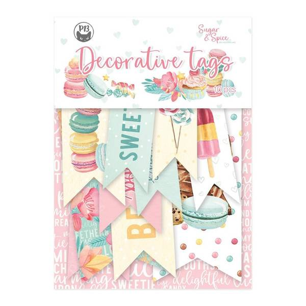 Sugar & Spice Double-Sided Cardstock Tags #2