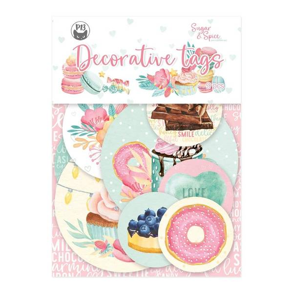 Sugar & Spice Double-Sided Cardstock Tags #1