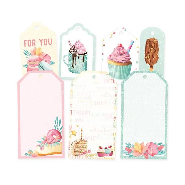 Sugar & Spice Double-Sided Cardstock Tags #3