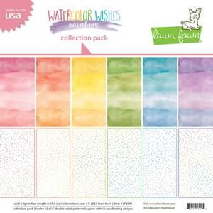 Bilde av watercolor wishes rainbow