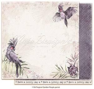 Bilde av Tropical Garden - Purple