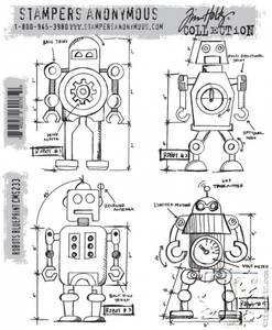 Bilde av Robots blueprint