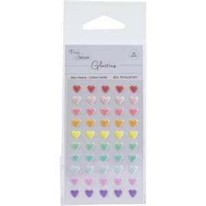 Bilde av Mini Hearts - Cotton Candy