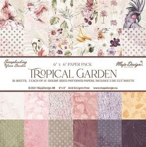 """Bilde av Tropical Garden - 6x6"""""""