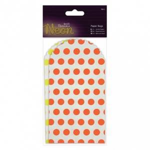 Bilde av Paper bags Neon yellow/orange