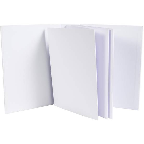 "49 And Market Foundations 2"" Portrait Album 8.5""X6.5"" White"