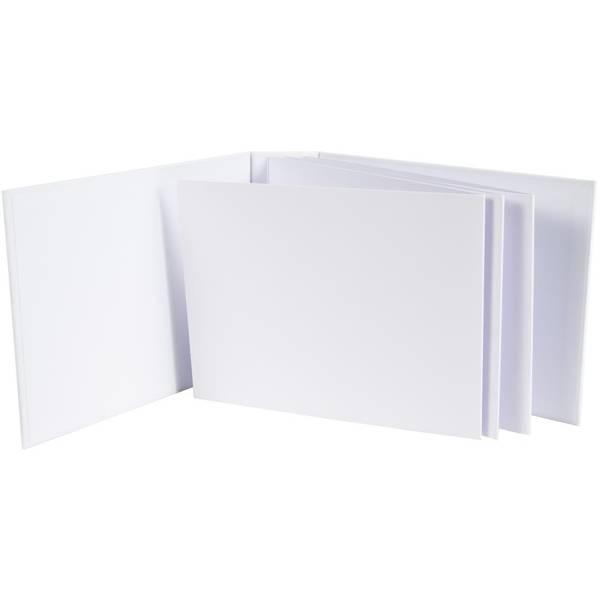 "49 And Market Foundations 2"" Landscape Album 6.5""X8.5"" White"