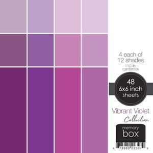 """Bilde av Vibrant Violet 6""""X6"""""""