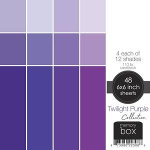 "Bilde av Twilight Purple  6""X6"""