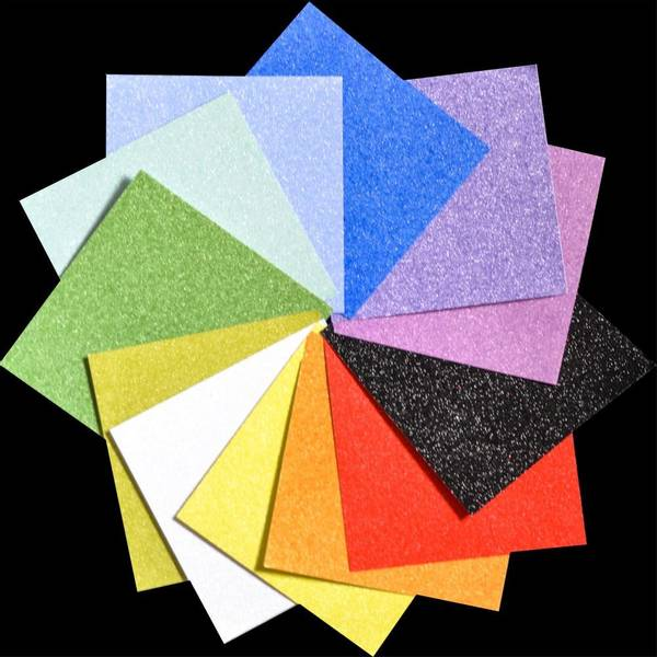 """Frosted - Glitter Paper Pad 6""""X6"""""""