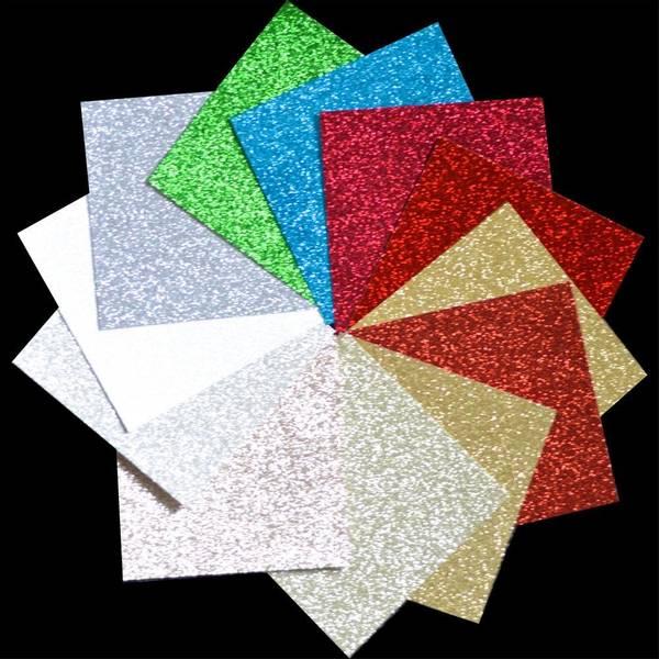 "Holiday - Glitter Paper Pad 6""X6"""