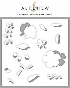 Bilde av Charming Doodles Mask Stencil