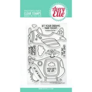 Bilde av Avery Elle Clear Stamp Set