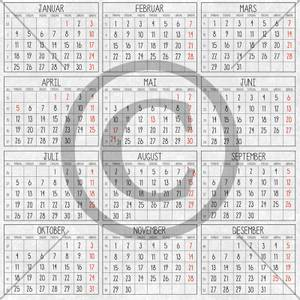 Bilde av Kalender 2021