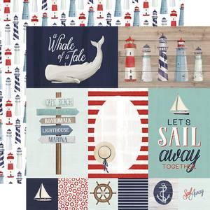 Bilde av By the sea -Journaling cards