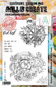 Bilde av Aall & create #198 A5 stamp