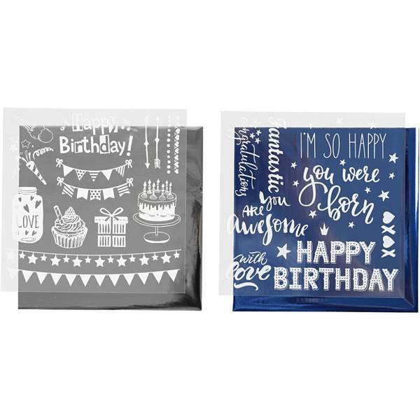 Limfolie og design limark, fødselsdag