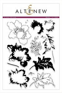 Bilde av Crown bloom stamp set