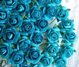 Bilde av Roser 1,2cm - turkis