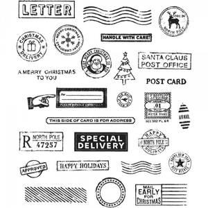 Bilde av Holiday Postmarks