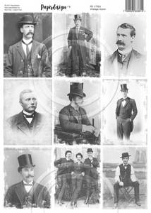 Bilde av Vintage menn