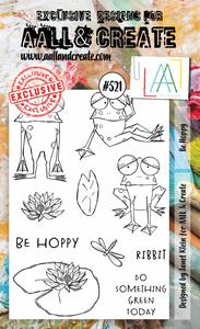 Bilde av #521 - A6 STAMPS - Be Hoppy