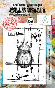 Bilde av #550 - A7 STAMP SET - Stink