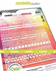 Bilde av Art printing - Lignes