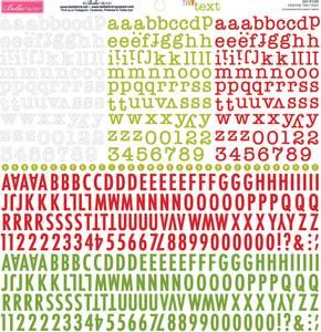 Bilde av Festive tiny text