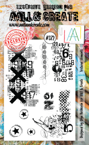 Bilde av #372 - A6 STAMP - Textural