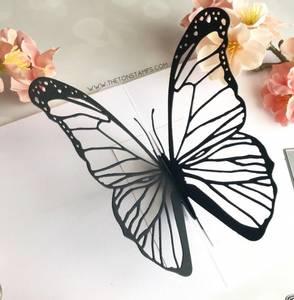 Bilde av Pop-Up Butterfly Dies -