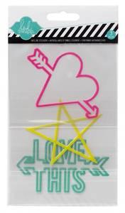 Bilde av outline stickers