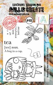 Bilde av #418 - A7 STAMPS - Tea time