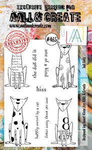 Bilde av #465 - A6 STAMPS - Tall cats