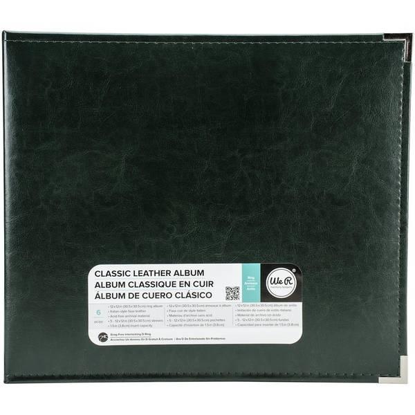 We R Classic Leather D-Ring Album 12