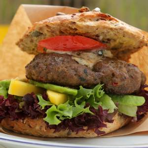 Bilde av Burger med Kraftkar