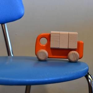 Bilde av Lastebil med klosser