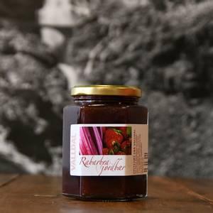 Bilde av Rabarbra og jordbær syltetøy