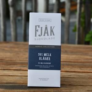 Bilde av Fjåk 50% Melk blåbær