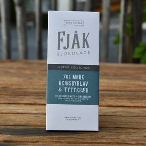 Bilde av Fjåk 70% mørk reinsdyrlav & tyttebær